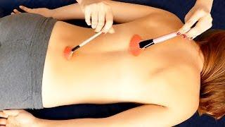 getlinkyoutube.com-ASMR Massage Spa Back Tickling, Tracing, Scratch, Brushing, Binaural Ear to Ear Whisper