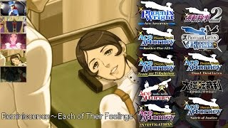 getlinkyoutube.com-Ace Attorney: All Reminiscence Themes 2016