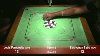 getlinkyoutube.com-US OPEN 2015 Carrom Championship Singles Finals Game2