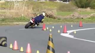 getlinkyoutube.com-2014/3/23 motogymkhana ダンロップ杯第1戦 ZRX1200