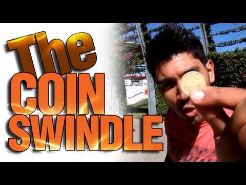 Coin Tricks Revealed : Free Coin Magic : The Coin Swindle