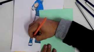 getlinkyoutube.com-Drawing Sasuke