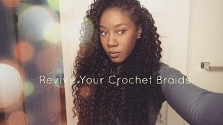 getlinkyoutube.com-Maintenance : Freetress Deep Twist Crochet Braids