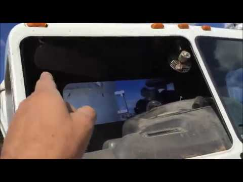 How to Install a Windshield Commercial Truck
