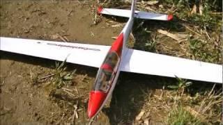 getlinkyoutube.com-スクープ カシオペアの高性能グライダー新作機 2011/11/12