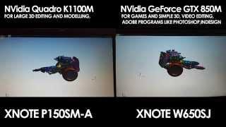 getlinkyoutube.com-QUADRO K1100M VS GEFORCE GTX 850M