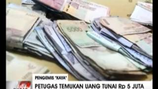 "getlinkyoutube.com-Berita 10 Juli 2015 - Pengemis ""kaya"" di tangkap beserta emas senilai 300 juta"