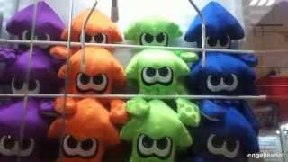 getlinkyoutube.com-UFOキャッチャー スプラトゥーン イカのぬいぐるみ! Splatoon