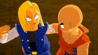 getlinkyoutube.com-Dragonball Z Burst Limit Mod: Krillin Transforms into Super Krillien!