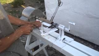 getlinkyoutube.com-токарный станок по дереву своими руками
