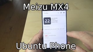 getlinkyoutube.com-Meizu MX4 Ubuntu Edition Unboxing, First Boot, and Initial Impressions