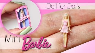 getlinkyoutube.com-Miniature Barbie Tutorial // DIY Dolls/Dollhouse