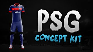 getlinkyoutube.com-Speed Art - PSG Concept Kit