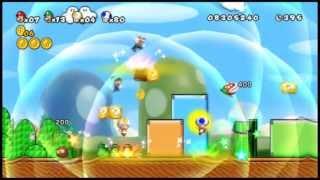 getlinkyoutube.com-[NSMBW HACK] New Super Mario Bros 3. WII Trailer