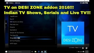 getlinkyoutube.com-TV on DESI ZONE Addon - How to install in Kodi to watch free Indian TV Shows and Serials