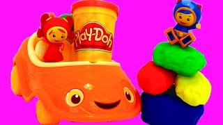 TEAM UMIZOOMI Umirrific Umicar with Play-Doh Surprise | itsplaytime612