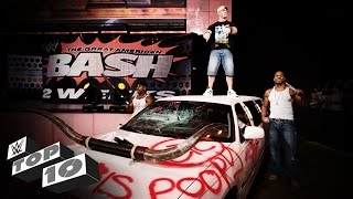 getlinkyoutube.com-Vehicular Demolitions: WWE Top 10