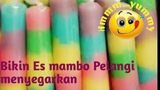 getlinkyoutube.com-Bikin Es mambo Pelangi menyegarkan