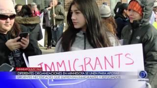 Diferentes organizaciones en Minnesota se unen para apoyar urgentes necesidades que enfrentan inmigrantes y refugiados