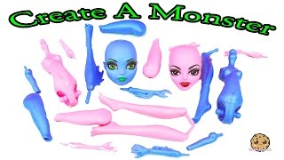 getlinkyoutube.com-Create A Monster High Doll Sea Monster & Vampire Playset Maker Set Unboxing Cookieswirlc Video