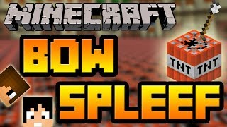 getlinkyoutube.com-Tackle⁴⁸²⁶ Minecraft - Mini Games: Bow Spleef (เข้าเกียร์หมาด่วน)