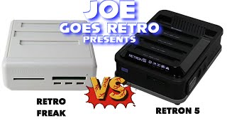 getlinkyoutube.com-Hyperkin Retron 5 Vs. CYBER Gadget Retro Freak - Console Comparison - Joe Goes Retro