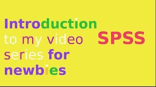 getlinkyoutube.com-Introduction to SPSS for data analysis: overview of SPSS