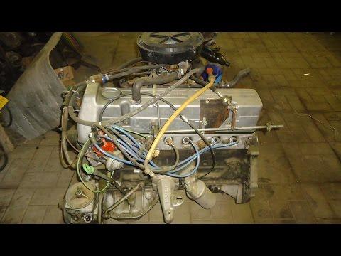 Двигатель МБ М110,разборка и дефектовка.