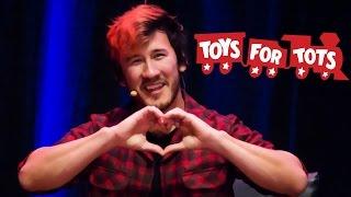 Markiplier's December Charity Livestream - Toys for Tots