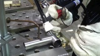 getlinkyoutube.com-Tig Welding Thin Steel Tubing