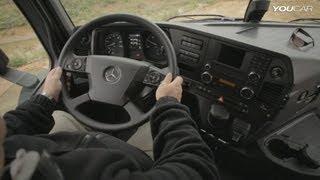 getlinkyoutube.com-2014 Mercedes Arocs INTERIOR