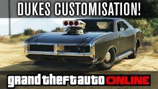 GTA Online | Imponte Dukes Customisation! | Dom's Charger (GTA 5 PS4 Gameplay)