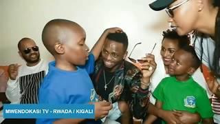 Huruma: Diamond alivo huzunishwa na watoto yatima (Rwanda)
