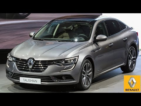 ?2019 Renault Talisman - DRIVE,INTERIOR and EXTERIOR of the brand's flagship