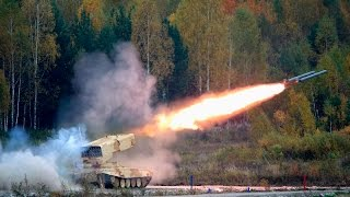 getlinkyoutube.com-Russian military hardware in action - Exercise expo HQ (Day 2)