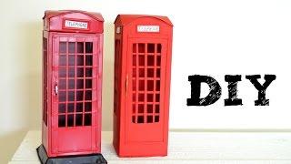 getlinkyoutube.com-DIY Cabine Telefônica de Londres