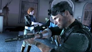 getlinkyoutube.com-Anna Grimsdottir and Sam Fisher Save US President (Splinter Cell: Conviction Ending. White House)