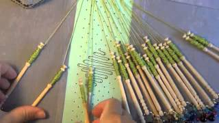 getlinkyoutube.com-Video #84 Beginner bobbin lace tutorial