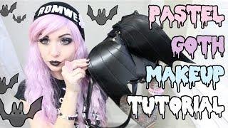 getlinkyoutube.com-Pastel Goth Makeup Tutorial