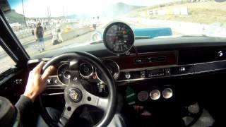 getlinkyoutube.com-1970 Dodge Dart Prostreet Drag Racing GoPro Helmet Cam