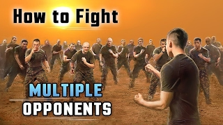 getlinkyoutube.com-How to Fight Multiple Attackers - 5 Self Defense Techniques for Fighting Multiple Opponents