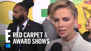 Charlize Theron's Favorite Curse Word Is… | E! Live from the Red Carpet width=