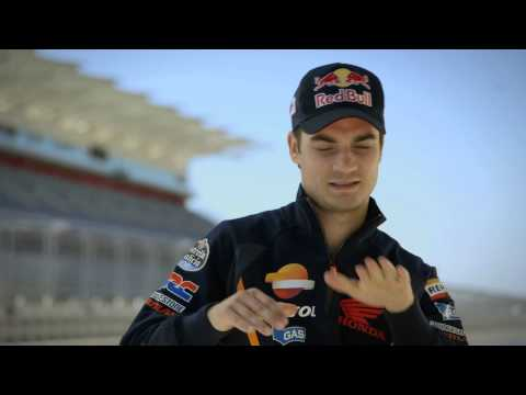 Dani Pedrosa, Marc Marquez and Stefan Bradl Talk About Racing