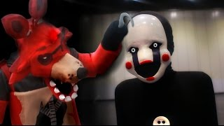 getlinkyoutube.com-FNaF COSPLAY - Marionette at MCM Comic Con London (Five Nights at Freddy's)