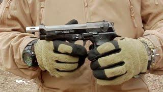 getlinkyoutube.com-Стартовый (Сигнальный) пистолет EKOL Jackal DUAL. Стрельба очередями