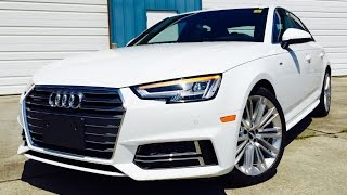 getlinkyoutube.com-2017 Audi A4 Prestige S-Line 2.0T Quattro S Tronic Full Review /Exhaust /Start Up /Short Drive