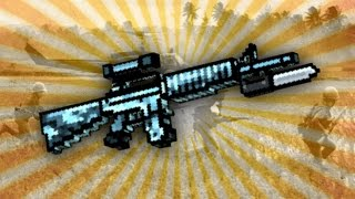 getlinkyoutube.com-Pixel Gun 3D - Combat Rifle UP2 [Review]
