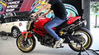 getlinkyoutube.com-Translogic Quickshifter Ducati Monster 795