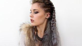 getlinkyoutube.com-Vikings Lagertha Inspired Hair Tutorial