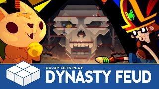 Dynasty Feud | 4 Player Versus Gameplay (with SmashGaming, Checkpoint & LostScarf)